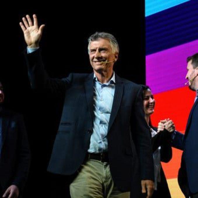 """Mauricio Macri: """"El peor virus que te inocula el populismo es la resignación,  por eso la carne se transformó en polenta"""""""