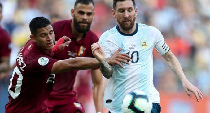 """El DT de Venezuela: """"El que no quiere jugar contra Argentina no es futbolista"""""""