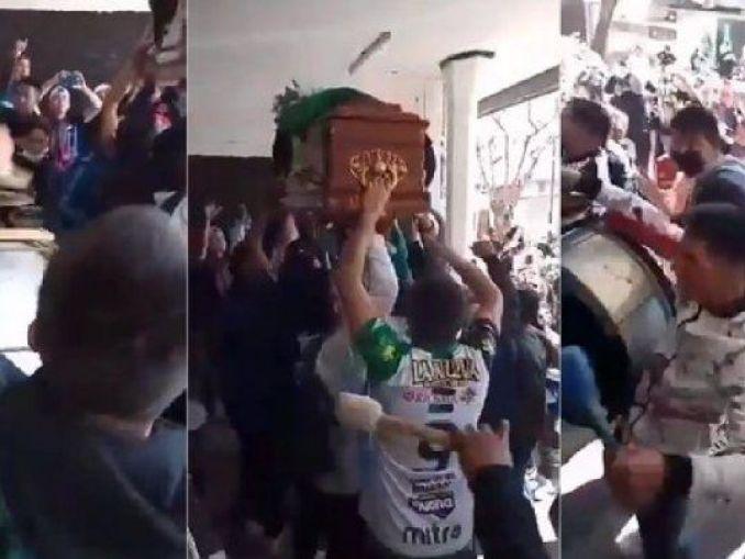 Escándalo en Nueva Chicago: Barras hicieron un velorio en el estadio tras el robo en el vestuario