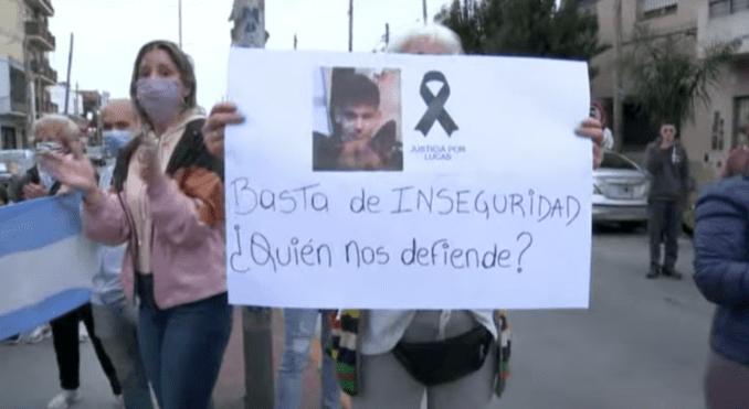 """Asesinato del joven de 17 años en Quilmes: """"No hay seguridad en ningún lado hasta que no haya justicia"""""""
