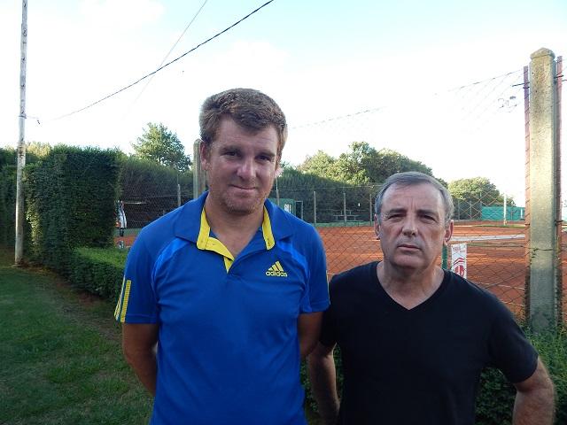 Pablo Cabrera y Cluadio Lovisolo