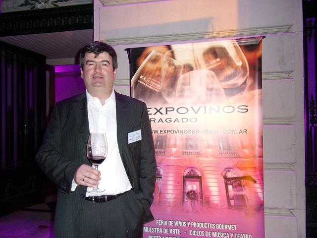 Sergio Cerro, organizador del evento