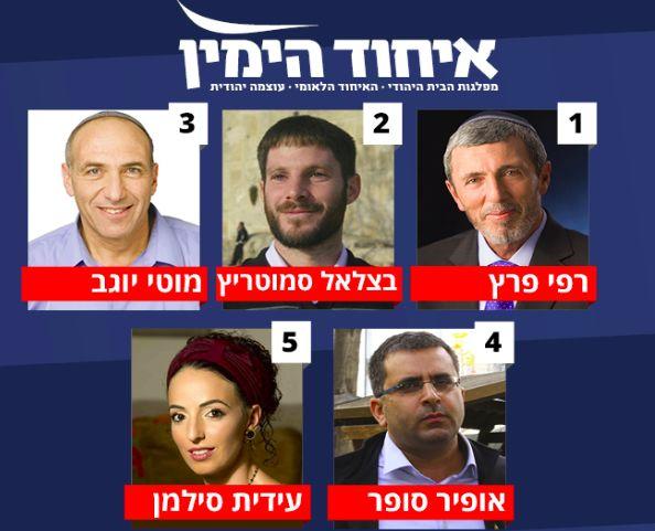 Los diputados electos de la Unión de Derecha