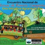 22 y 23 de marzo en San Vicente del Caguán (Caquetá): III Encuentro Nacional de Zonas de Reserva Campesina