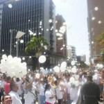 Tolimenses marcharon por la paz y los diálogos de La Habana
