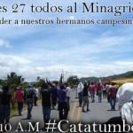 Jueves 27 de junio en Bogotá: Nuevo mitin de solidaridad con el Catatumbo