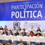 Debate constituyente en la agenda