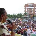 Cauca marchó por la paz con justicia social