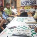 Entusiasta asamblea de Asoprensa, seccional Tolima