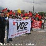 Festival del Semanario Voz, un acto por la democracia y la paz