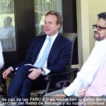Las FARC-EP se reunieron con canciller noruego