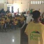 Corazones visten de verde y amarillo en Apartadó (Antioquia)