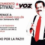 Viernes 4 de septiembre en Bogotá: lanzamiento del Festival de VOZ