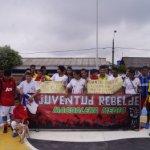 Campeonato de microfútbol juvenil por la paz en Yondó