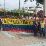 Marcha en San Martín inicia movilización de la USO contra el fracking