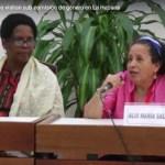 Mujeres excombatientes visitan subcomisión de género en La Habana