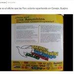 Caracol Radio rectifica información sobre cartilla de paz