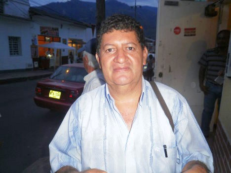Líder Comunitario, Luis Ángel Alonso Díaz. Foto Nelosi.