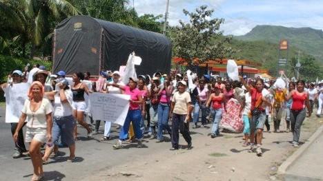 Protestas campesinas en Putumayo