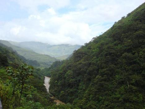 Cañón de la Llorona, en Dabeiba, Urabá (Antioquia).