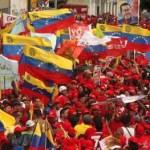En Bogotá, concentración en solidaridad con Venezuela