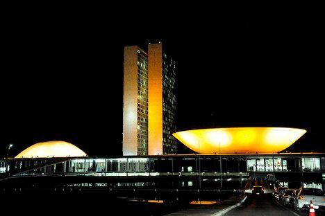 Sede del Congreso Nacional de Brasil. Foto: Jonas Pereira/Agência Senado via photopin (license)