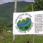 Comunidad de Paz de San José de Apartadó: Paramilitares invaden nuestros espacios, el Estado lo niega