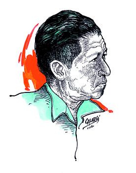 Pedro Pablo Bello (Chaparral). Plumilla de Arlés Herrera, Calarcá.