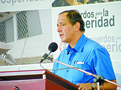 Juan Camilo Restrepo, Jefe de la Delegación del Gobierno.