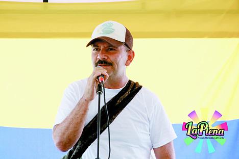 Jimmy Ríos de las FARC-EP.