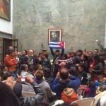 Acto en homenaje a Fidel Castro desde Bogotá