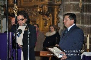 Premio Cruz de Guía 2012 Archicofradía del Santísimo