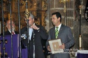 Premio Cruz de Guía 2012 Hermandad de Penitentes de la Vera Cruz