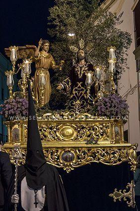 Cofradía de Jesús orando en el Huerto