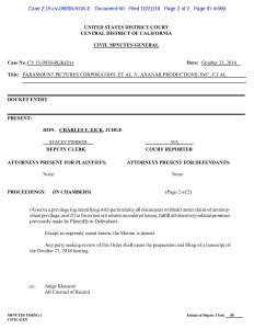 Civil Minutes - Axanar Motion to Compel Discovery Ruling Page 2
