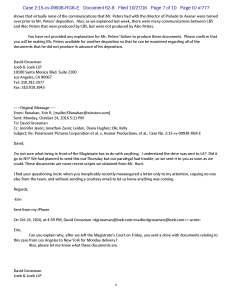 David Grossman Declaration, Exhibit G