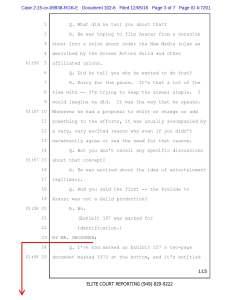 Reply Brief: Gossett Deposition; Exhibit C, Page 3