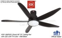 Kdk Ceiling Fan Black