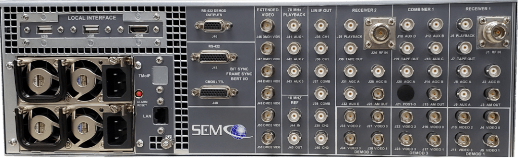 RC300C Rear Panel