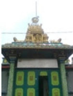 Kuil Shri Mariamman Kampong Madras Medan