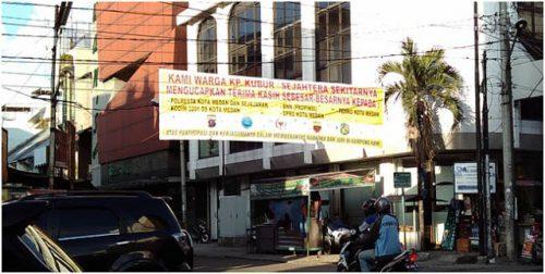 Kampung Madras, Kampung Keling, Kampung Kubur Medan