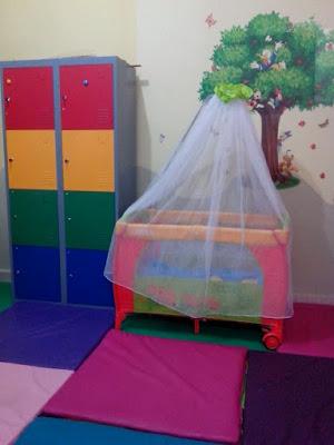 Box bayi untuk anak usia 0-5 tahun Almira Daycare.
