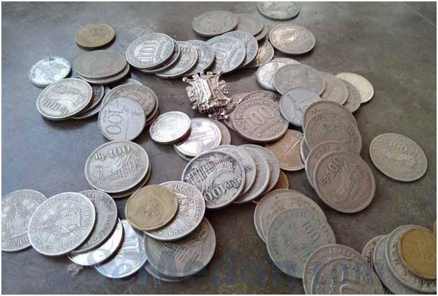 Uang Logam Koin Langka Koleksi Duit Kuno  SeMedancom