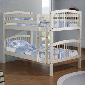 White Bunk Bed On Sale 189 Alief Furniture