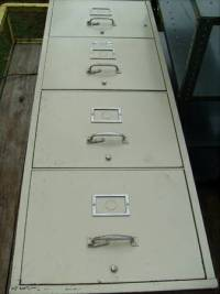 Victor firemaster file cabinet for sale