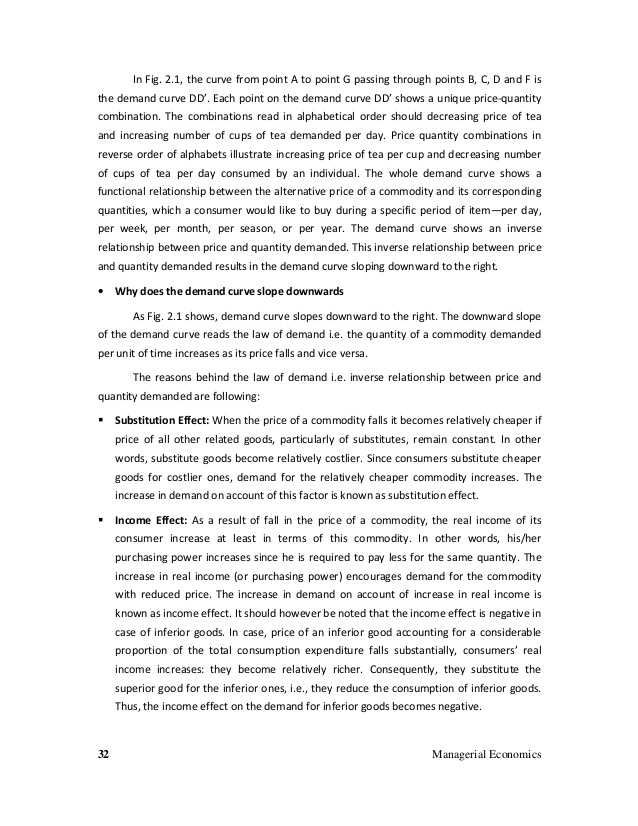 2.1 Economics Worksheet Answers together with Managerial Economics Text Book