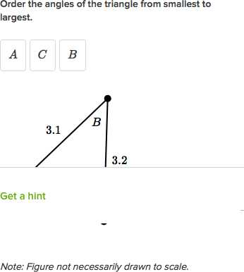 2 8b Angles Of Triangles Worksheet Answers or ordering Triangle Sides and Angles Example Video