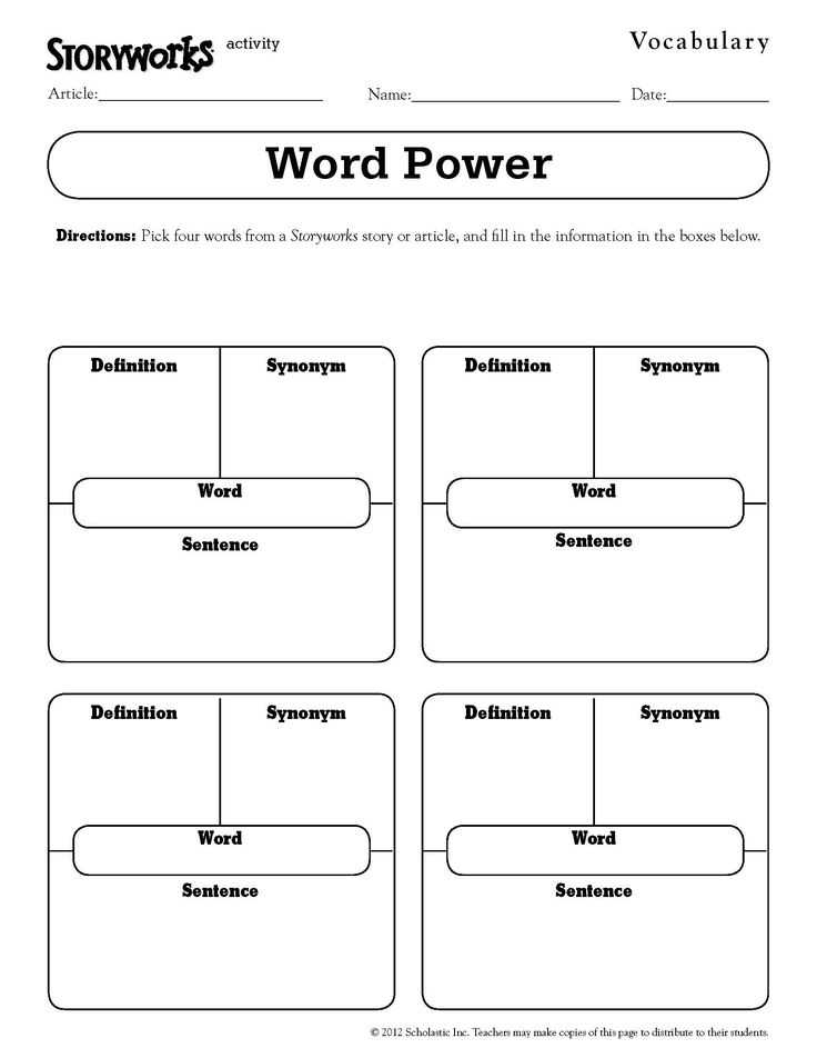 2nd Grade Vocabulary Worksheets Also 14 Best Vocabulary Teaching Ideas Images On Pinterest