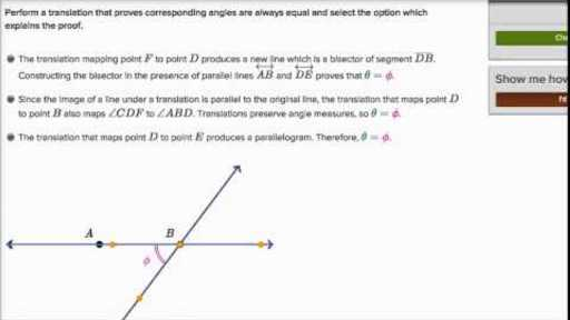 3 1 Lines and Angles Worksheet Answers together with Proofs with Transformations Video