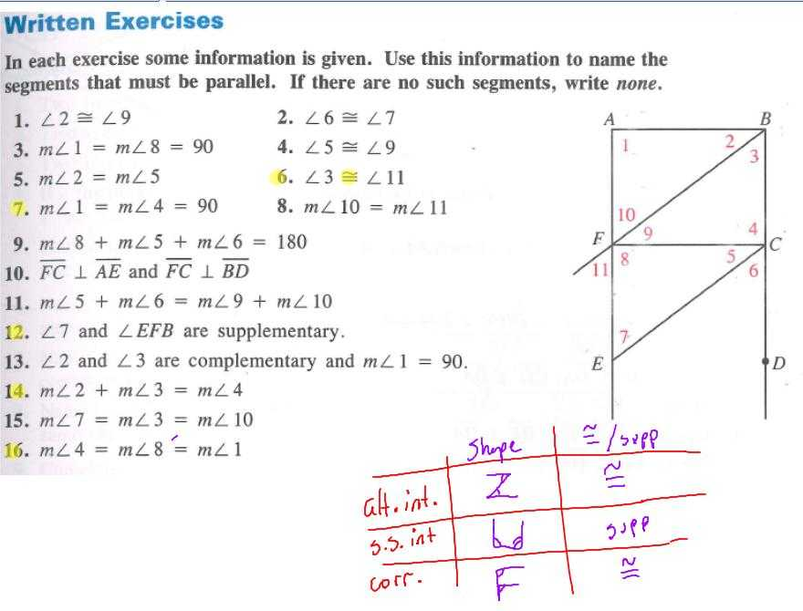 3.3 Proving Lines Parallel Worksheet Answers with Worksheets 46 Re Mendations Parallel Lines Cut by A Transversal